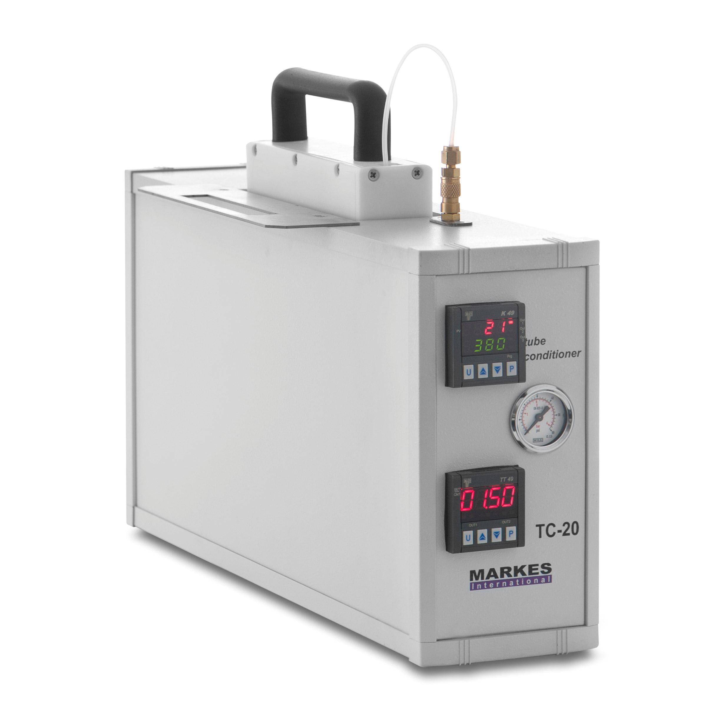 TC-20 & TC-20 TAG - Thiết bị luyện ống hấp phụ